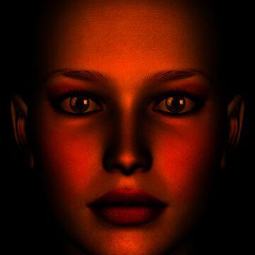 Face Red 02 by JevoUK