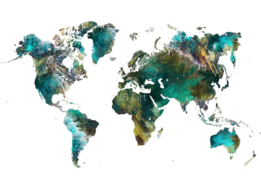 World Map tree #worldmap #map by JBJart