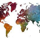 World map by JBJart