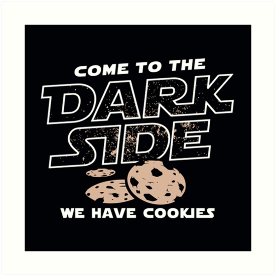 Dark Side Cookies Star Wars\