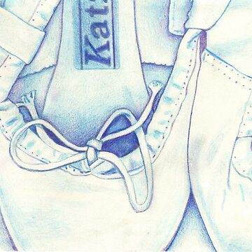 Blue Ballet shoes by Arianey