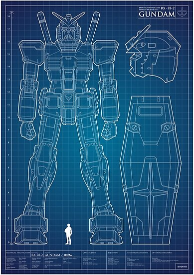 Quot Rx 78 2 Quot Poster By Snapnfit Redbubble