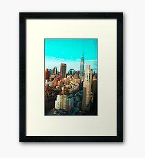 ESB AQUA SKY Framed Print