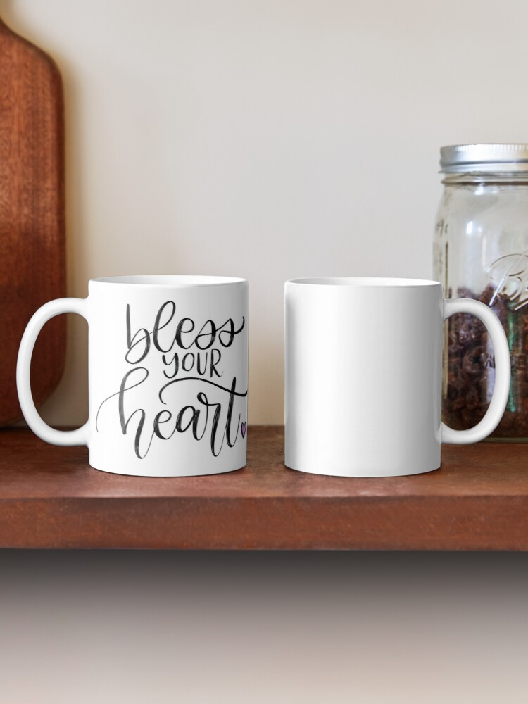 Alternate view of Bless Your Heart Mug