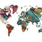 World Map triangle by JBJart