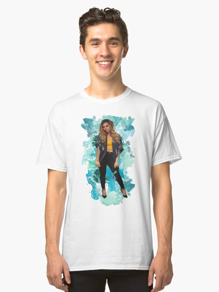 Dinah Jane Blue Splash!   Classic T-Shirt Front
