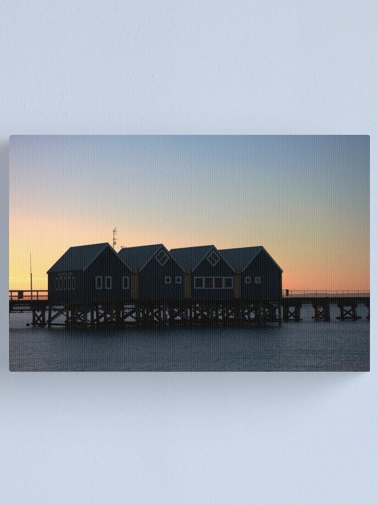 Alternate view of Busselton Sunset HDR Canvas Print
