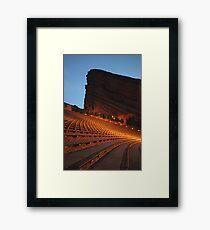 Red Rocks Amphitheater Morrison, Colorado Framed Print