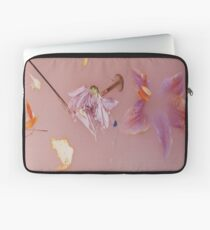 Harry Styles' Pink Floral Pattern Laptop Sleeve