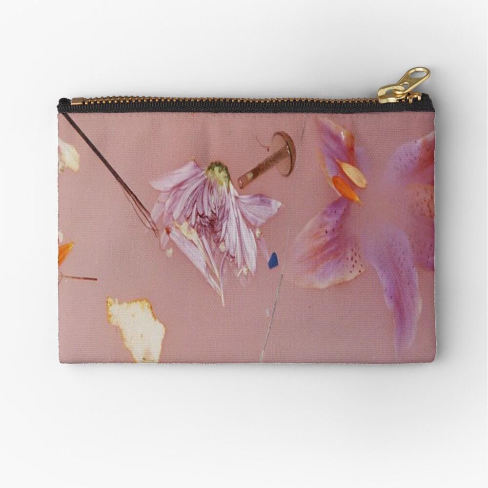 Harry Styles rosa Blumenmuster Täschchen