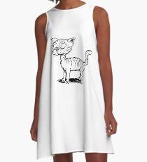 Ugly Cat A-Line Dress