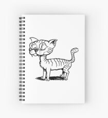 Ugly Cat Spiral Notebook