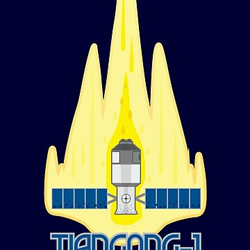 Tiangong-1: coming to a town near you! by GaffaMondo