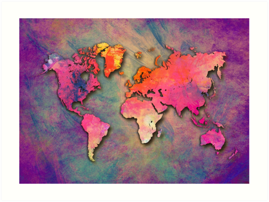 World Map special 4 by JBJart