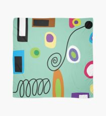 Mod Abstract Green Scarf