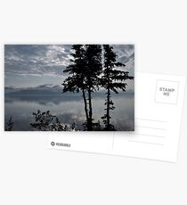 Blue Series - Kluane Lake 2 Postcards