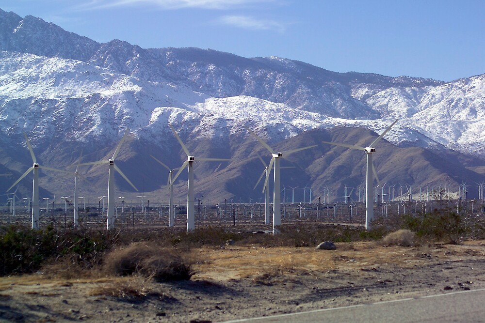 Wind Turbines by Dennis Begnoche Jr.