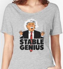 Trump Stable Genius Women's Relaxed Fit T-Shirt