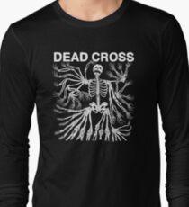 Dead Cross Skeleton White Long Sleeve T-Shirt
