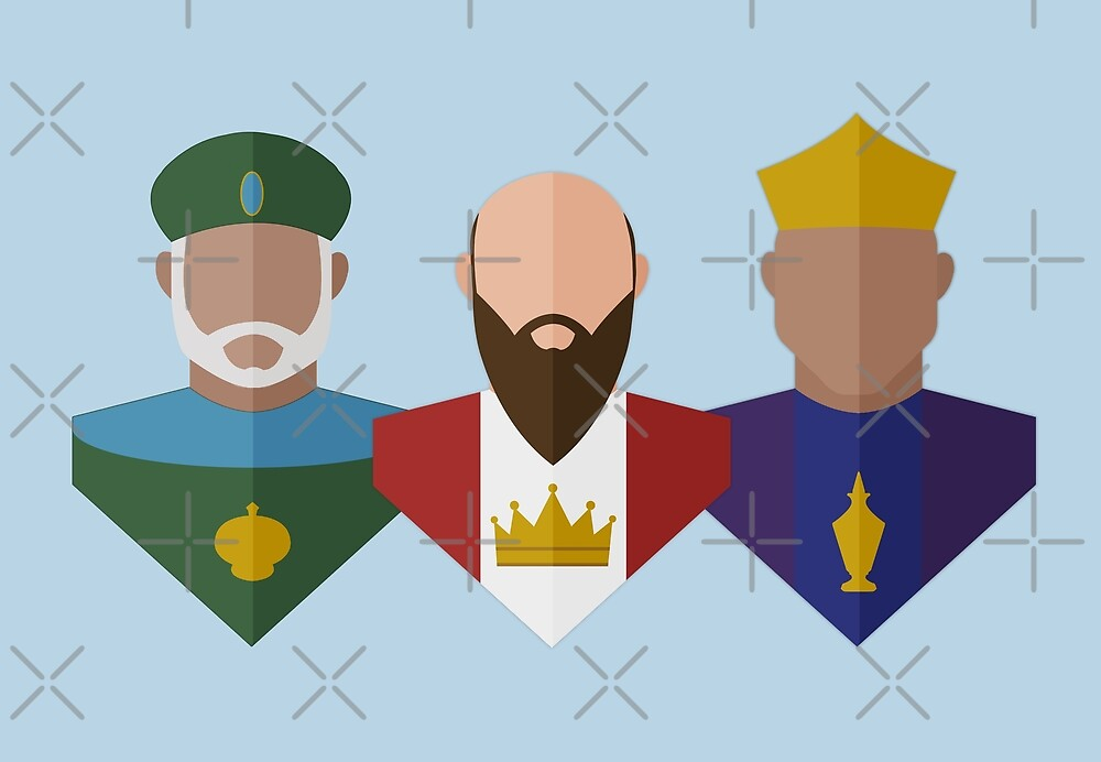 Three Wise Men by All Saints Shop
