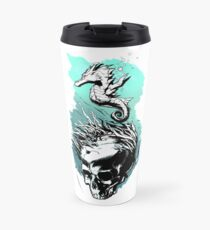 SeaHorse ( Transparent Background) Travel Mug