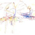 Ballerinas by Miles Design Art