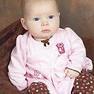 Carlie Llewellyn at 4 Months... by Larry Llewellyn