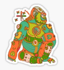 Gorilla, from the AlphaPod collection Sticker