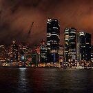 Barangaroo night panorama by andreisky