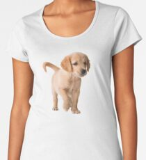 Golden Retriever Women's Premium T-Shirt