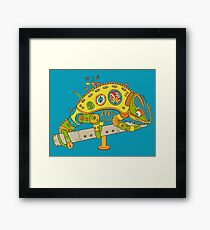 Chameleon, from the AlphaPod collection Framed Print