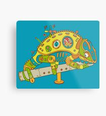Chameleon, from the AlphaPod collection Metal Print