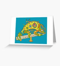 Chameleon, from the AlphaPod collection Greeting Card