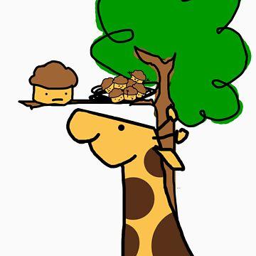 Muffin Giraffe by JLGMedia