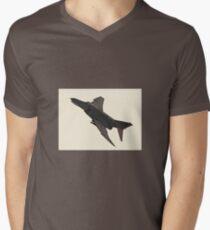 F-4 Phantom II - comics edition 2 Men's V-Neck T-Shirt