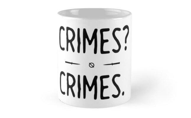 Crimes. - Night in the Woods Classic Mugs