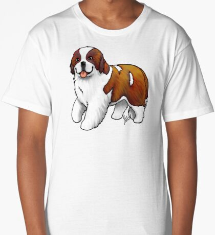 St. Bernard Long T-Shirt