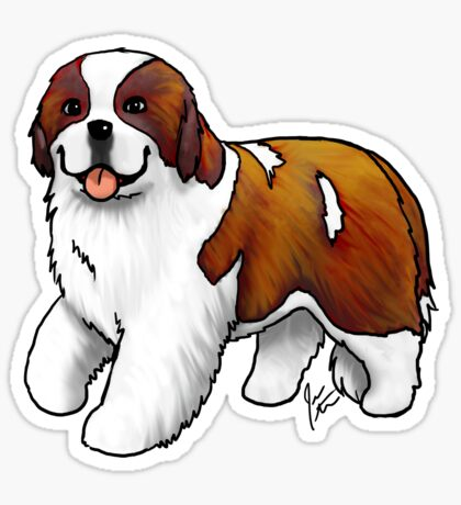 St. Bernard Sticker
