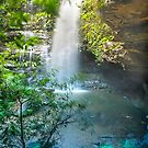 Blue Mountains waterfall 1 by Kestrelle