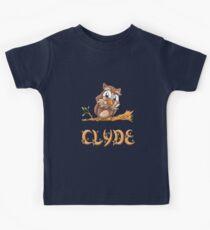 Clyde Owl Kids Tee
