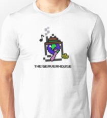 The Beaverhouse (8 Bit) Unisex T-Shirt