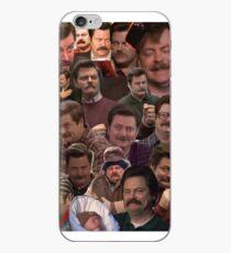 RON SWANSON'S FACES iPhone Case