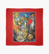 BELLA : Marc Chagall Vintage Abstract Painting Print Scarf