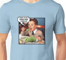 Little Tommy Always Eats His Greens! Unisex T-Shirt