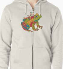 Frog, from the AlphaPod collection Zipped Hoodie