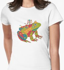 Frog, from the AlphaPod collection Women's Fitted T-Shirt
