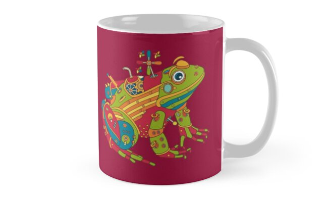 Frog, from the AlphaPod collection by alphapod
