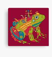 Frog, from the AlphaPod collection Canvas Print