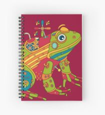Frog, from the AlphaPod collection Spiral Notebook