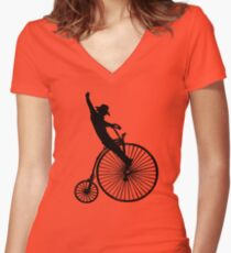 Apprentice Cowboy Women's Fitted V-Neck T-Shirt